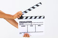Blank Movie Clapper Board Royalty Free Stock Photo - 49551985