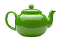 Green Ceramic Teapot Royalty Free Stock Image - 49561696