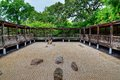 Japanese Sand And Rock Garden Royalty Free Stock Photo - 49562515