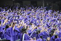 New York University (NYU) 181st Commencement Ceremony Stock Photography - 49574462