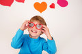 Valentine S Day: Kids Fun Royalty Free Stock Photography - 49597557
