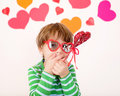 Valentine S Day: Kids Fun Stock Image - 49597561
