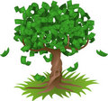 Money Growing On Tree Royalty Free Stock Images - 4960689