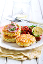 Sweet Corn Fried Cakes Royalty Free Stock Images - 49612439