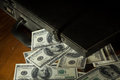 Still Life Dollars Bill With Suitcase. Stock Photos - 49613253
