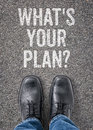 Whats Your Plan Royalty Free Stock Images - 49618519