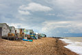 Whitstable Beach Huts Royalty Free Stock Photography - 49632517