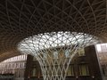 Kings Cross Station Roof Royalty Free Stock Photos - 49638578