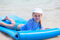 Child On A Tropical Vacation Stock Image - 49664341