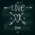 I Love You! Valentine S Day Card. Stock Photo - 49670690