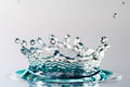 Drop Of Water With Crown Royalty Free Stock Images - 49678569