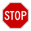 Stop Sign Stock Image - 4973681