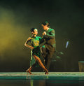 Overlooking The-the Identity Of The Mystery-Tango Dance Drama Stock Photos - 49722723