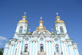 St. Nicholas Naval Cathedral, St. Petersburg. Royalty Free Stock Photos - 49724448
