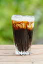 Iced Coffee With Milk Stock Photography - 49726312