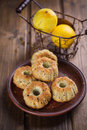 Muffins With Lemon Royalty Free Stock Images - 49729099