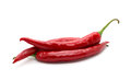 Hot Red Chili Or Chilli Pepper Isolated. Royalty Free Stock Image - 49735886