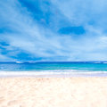 Sandy Beach Background Royalty Free Stock Image - 49768076