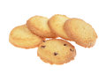 Butter Cookies Royalty Free Stock Photos - 49774378