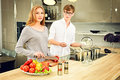 Cooking Together Stock Images - 49803044