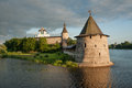Ancient Pskov Royalty Free Stock Photography - 49804227