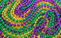 Mardi Gras Beads Background Stock Images - 49816744