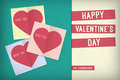 Valentine S Day Card Royalty Free Stock Photography - 49847037