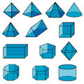 3d Geometric For Kid Vector Royalty Free Stock Photos - 49860838
