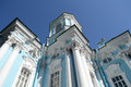 St. Nicholas Naval Cathedral, St. Petersburg. Royalty Free Stock Photo - 49861505