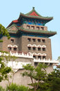 Arrow Tower Just South Of The Main Gate Into Ancient Beijing Stock Image - 49881211
