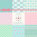 Retro Seamless Patterns 2 Royalty Free Stock Images - 49884069