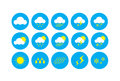 Weather Icon, Icons Representing Weather Related Symbols. Stock Photos - 49884953