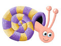 Funny Snail Stock Photography - 49886112