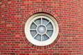 Round Window In Brick Tower Royalty Free Stock Images - 4995419