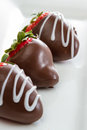 Chocolate Covered Strawberries Royalty Free Stock Photo - 49903705