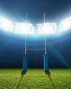 Rugby Stadium And Posts Stock Photo - 49908630