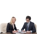 Businesspeople Working Stock Images - 49916514