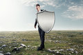 Iron Shield Royalty Free Stock Images - 49917789