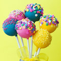 Colorful Cake Pops Stock Image - 49923761