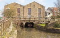 The Building At The End Of Wigan Pier. Stock Photos - 49931793