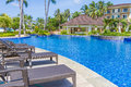 Luxury Pool In A Hotel, Resort Leisure Time, Stock Photography - 49936182