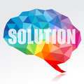 Brain And Solution Stock Images - 49938004