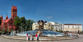 Citizens Have A Rest At The Fountain In Independence Square In Minsk. Royalty Free Stock Photo - 49941725