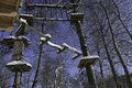 Snow Covered Jungle Gym Stock Photography - 49954252