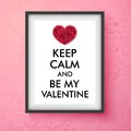 Fun Valentines Day Vector Card Design Stock Images - 49962094