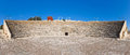 Ancient Greco-Roman Theater In Kourion, Cyprus Royalty Free Stock Photo - 49969985