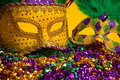 Colorful Group Of Mardi Gras Or Venetian Mask Or Costumes On A Y Stock Images - 49971814