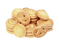 Butter Cookies Royalty Free Stock Photography - 49980727