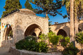 Fountain In Courtyard Of Ayia Napa Monastery Royalty Free Stock Images - 49987589