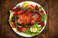 Roasted Duck Stock Photography - 49989222